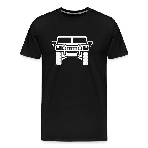 Hummer/Humvee illustration - Men's Premium T-Shirt