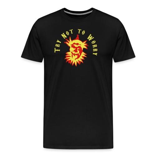 Try Not to Worry - Men's Premium T-Shirt