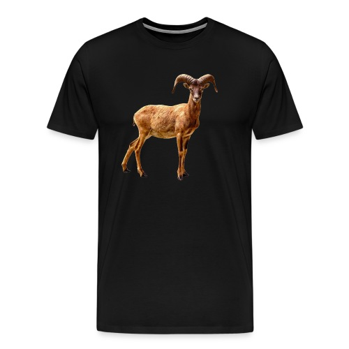 Goat Mug - Men's Premium T-Shirt
