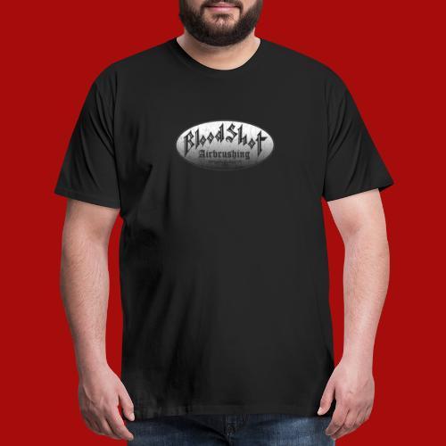 BloodShot Airbrushing Logo - Men's Premium T-Shirt
