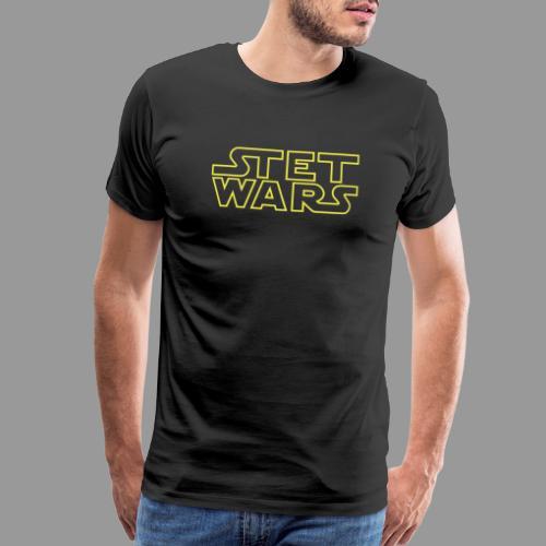 Stet Wars - Men's Premium T-Shirt
