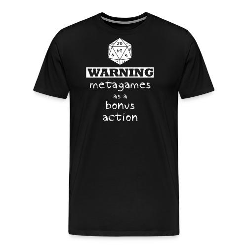 Metagaming - Men's Premium T-Shirt