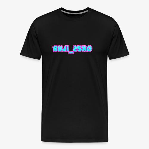 Ruji_25xo Text - Men's Premium T-Shirt