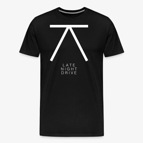 LND Logo White - Men's Premium T-Shirt