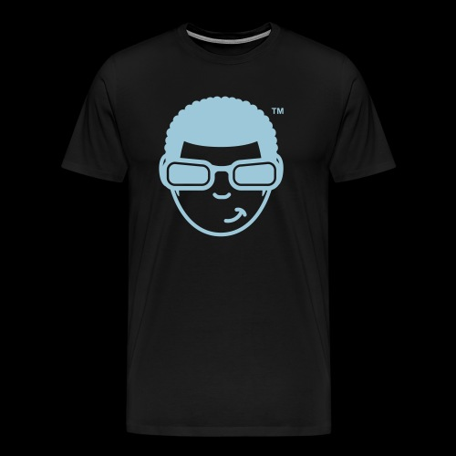 WearFizzle Mascot Blue - Men's Premium T-Shirt