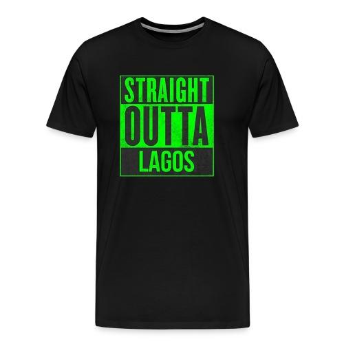 str out lagreen - Men's Premium T-Shirt