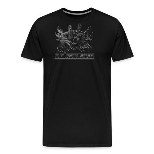 Our Metal Stage Merch - Men's Premium T-Shirt