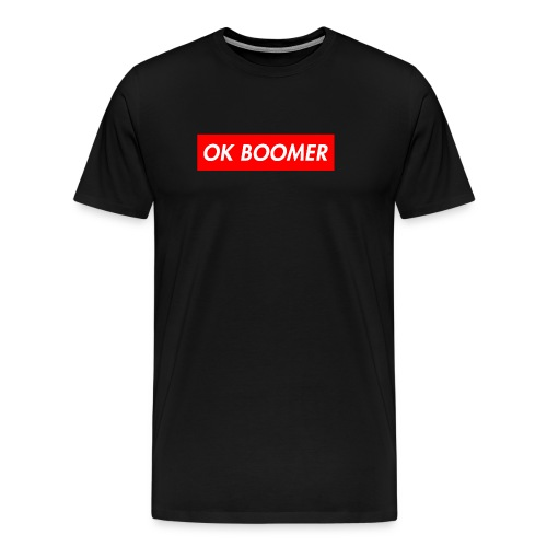ok boomer merch - Men's Premium T-Shirt