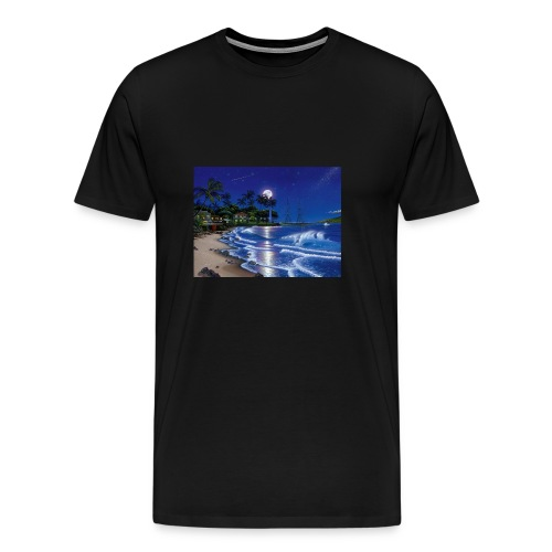 full moon - Men's Premium T-Shirt