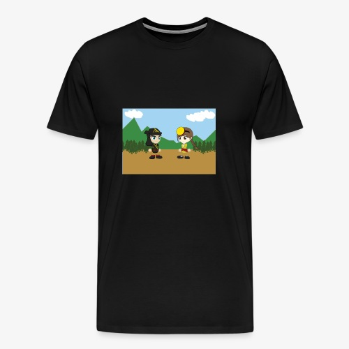 Digital Pontians - Men's Premium T-Shirt