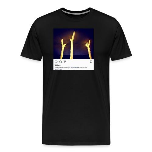 TREE LIGHT - Men's Premium T-Shirt