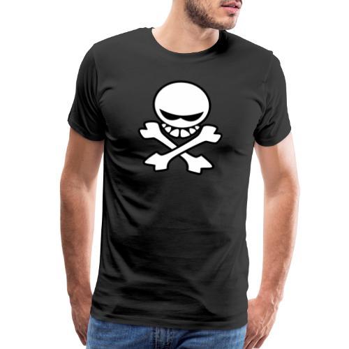 Cartoon Skull - Men's Premium T-Shirt