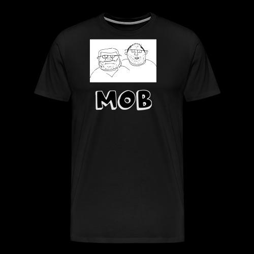 MOB Logo - Men's Premium T-Shirt
