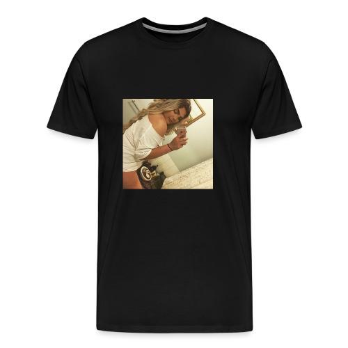 B.HARDY SHY SELFIE - Men's Premium T-Shirt