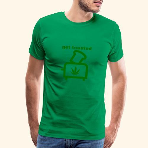 GET TOASTED - Men's Premium T-Shirt
