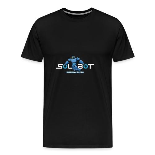 Solbot White Text - Men's Premium T-Shirt