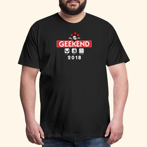 GeekEnd 2018 - Men's Premium T-Shirt