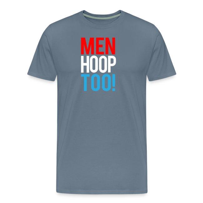 Red, White & Blue ---- Men Hoop Too!