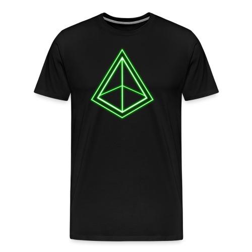 Green Pyramid - Men's Premium T-Shirt
