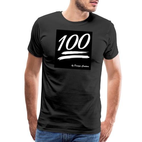 100 WHITE - Men's Premium T-Shirt