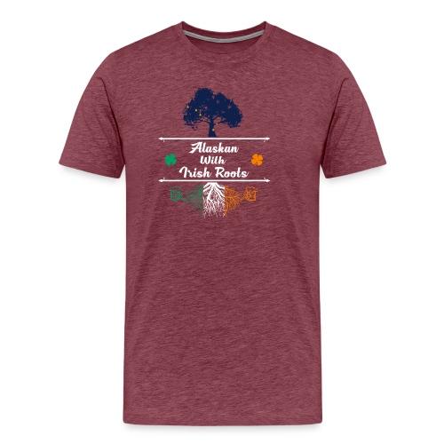 ALASKAN WITH IRISH ROOTS - Men's Premium T-Shirt