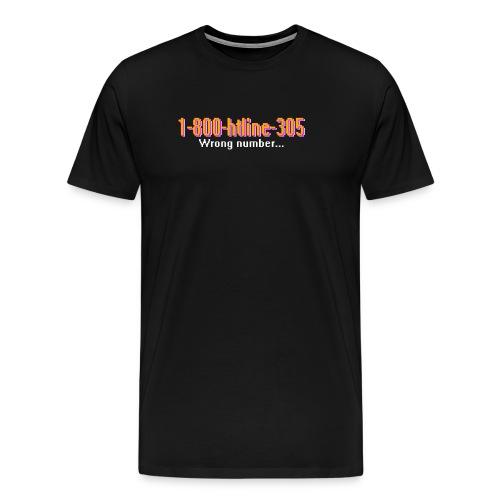 1-800-Hotline-Miami - Men's Premium T-Shirt
