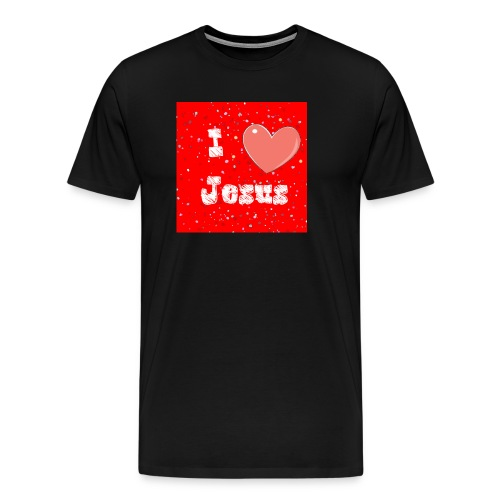 i heart jesus - Men's Premium T-Shirt