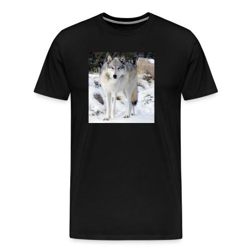 Canis lupus occidentalis - Men's Premium T-Shirt