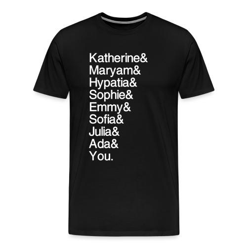 Women in Math (& You!) - Men's Premium T-Shirt