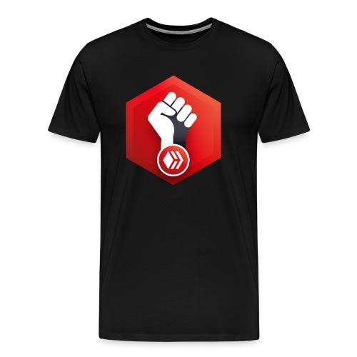 Hive Revolution Logo - Men's Premium T-Shirt