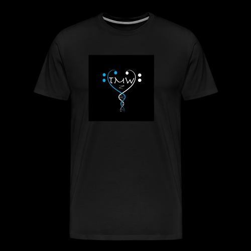 the music within logo - Men's Premium T-Shirt