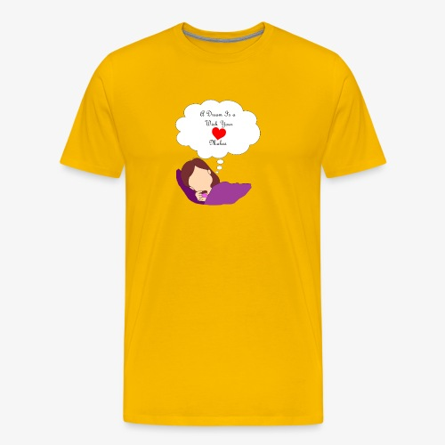 A Dream - Men's Premium T-Shirt