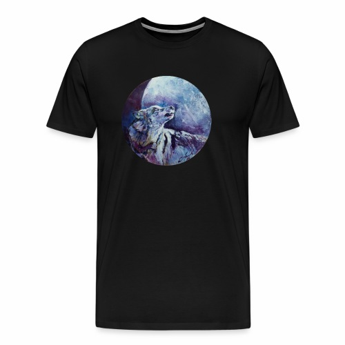Express Your Wolf - Men's Premium T-Shirt