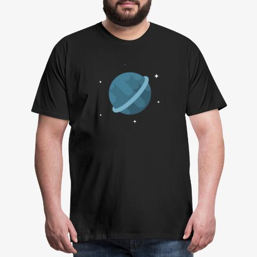 Tiny Blue Planet - Men's Premium T-Shirt