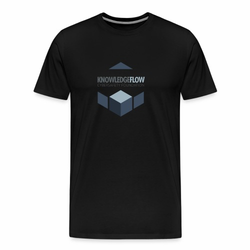 KnowledgeFlow Cybersafety Foundation - Men's Premium T-Shirt