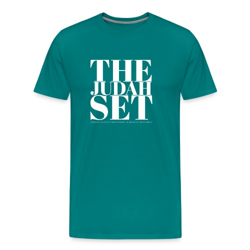 THEJUDAHSET LOGO (Blocked) - Men's Premium T-Shirt