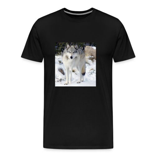 Canis lupus occidentalis - Men's Premium T-Shirt