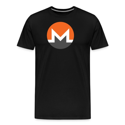 Monero Logo - Men's Premium T-Shirt