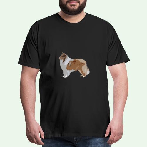 Rough Collie - Men's Premium T-Shirt