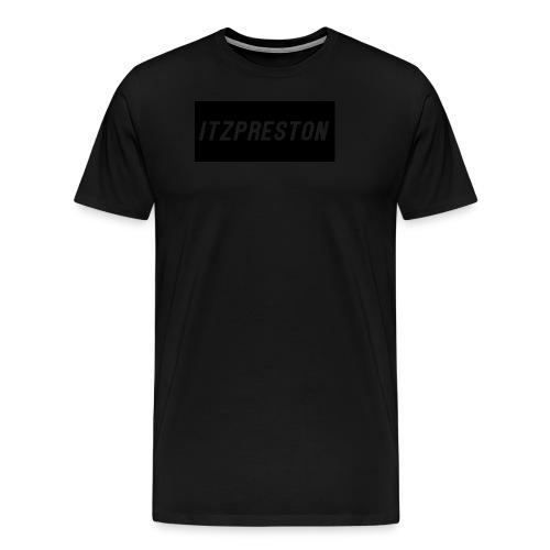 iTzPreston Full Black - Men's Premium T-Shirt