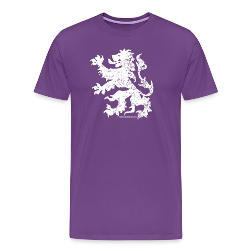 Dutch Lion (white) - Men's Premium T-Shirt