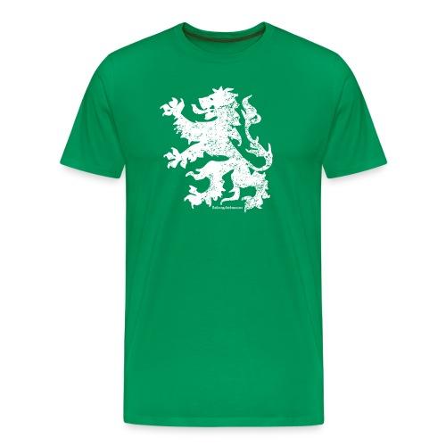 Dutch Lion (white) - Men's Premium T-Shirt