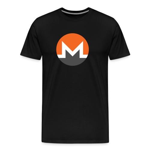 Monero Logo - Men's Premium T-Shirt