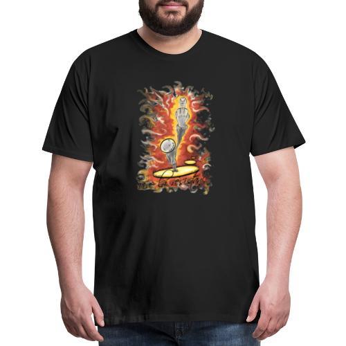 vive la résistance red - Men's Premium T-Shirt
