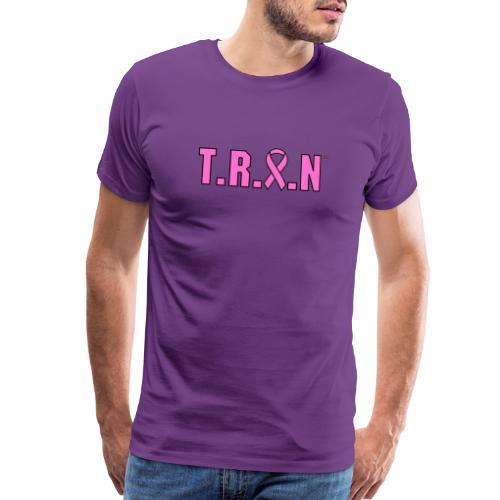 TRAN pink png - Men's Premium T-Shirt