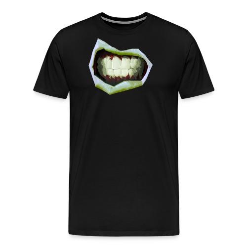 2 Mouth3temp png - Men's Premium T-Shirt