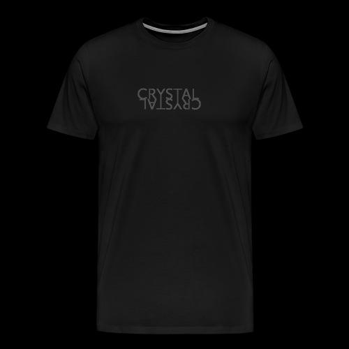 Crystal Logo Black - Men's Premium T-Shirt