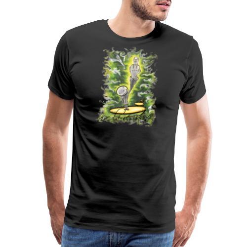 vive la résistance green - Men's Premium T-Shirt