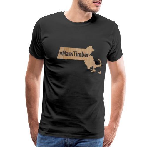 MassTimber (Tansparent) - Men's Premium T-Shirt