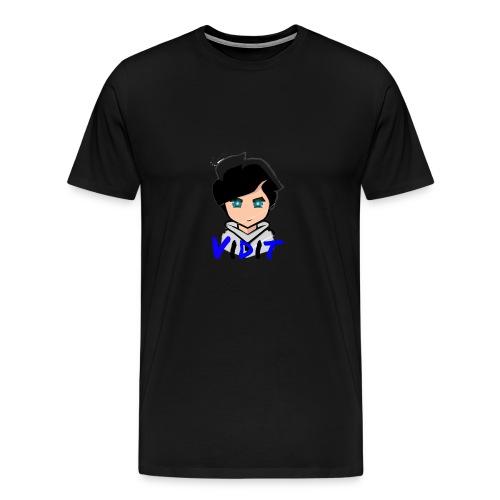 Mascot + Text - Men's Premium T-Shirt